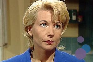 Bild von Angela Neumann als Vera Richter aus der TV-Serie Gute Zeiten, Schlechte Zeiten (GZSZ)