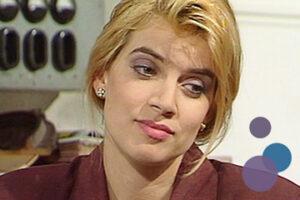Bild von Fenja Rühl als Barbara Graf aus der TV-Serie Gute Zeiten, Schlechte Zeiten (GZSZ)
