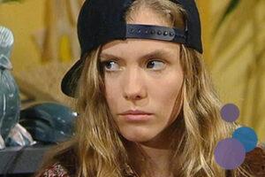 Bild von Heinke Hüttmann als Karin Becker aus der TV-Serie Gute Zeiten, Schlechte Zeiten (GZSZ)