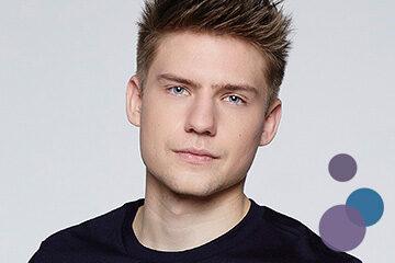 Bild von Lennart Borchert als Moritz Bode aus der TV-Serie Gute Zeiten, Schlechte Zeiten (GZSZ)