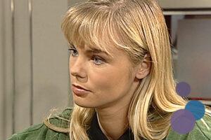 Bild von Saskia Valencia als Saskia Rother aus der TV-Serie Gute Zeiten, Schlechte Zeiten (GZSZ)