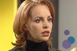 Bild von Simone Hanselmann als Anna Meisner aus der TV-Serie Gute Zeiten, Schlechte Zeiten (GZSZ)