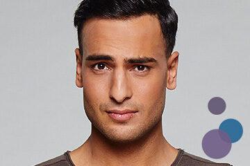 Bild von Timur Ülker als Nihat Güney aus der TV-Serie Gute Zeiten, Schlechte Zeiten (GZSZ)